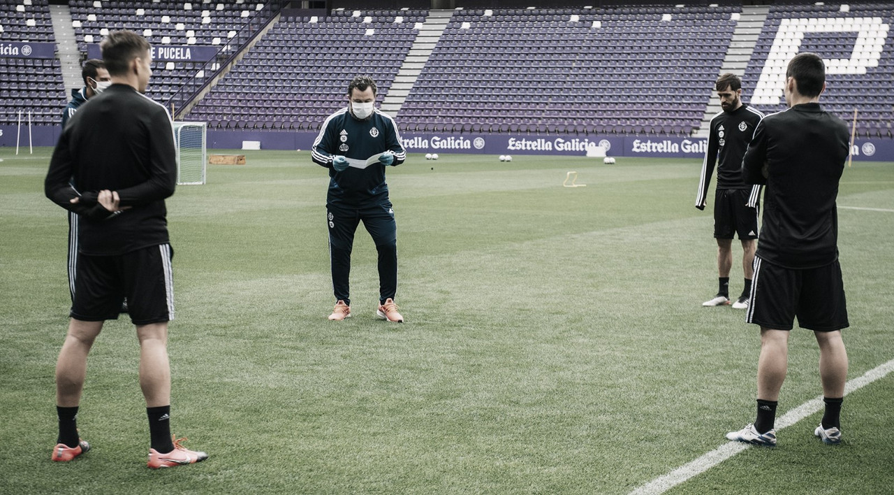 Así es como entrena el Real Valladolid