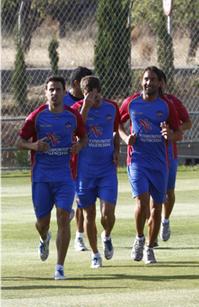 Pedro Ríos no se entrena y Dudka realiza su primer entrenamiento
