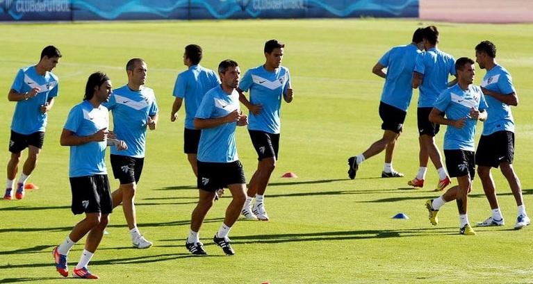 Primera sesión de preparación para enfrentarse al Panathinaikos