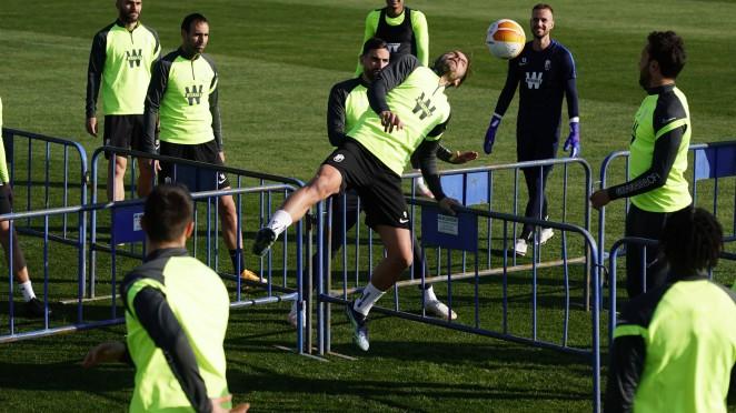 El Granada CF se prepara para recibir al Manchester United