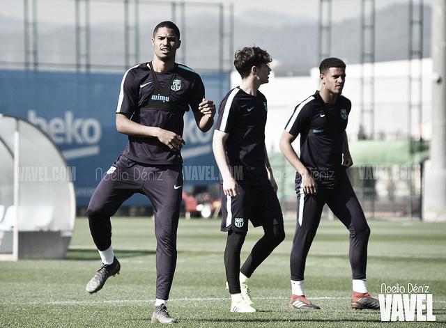 El Barça B ultima el duelo ante el Atlético Levante