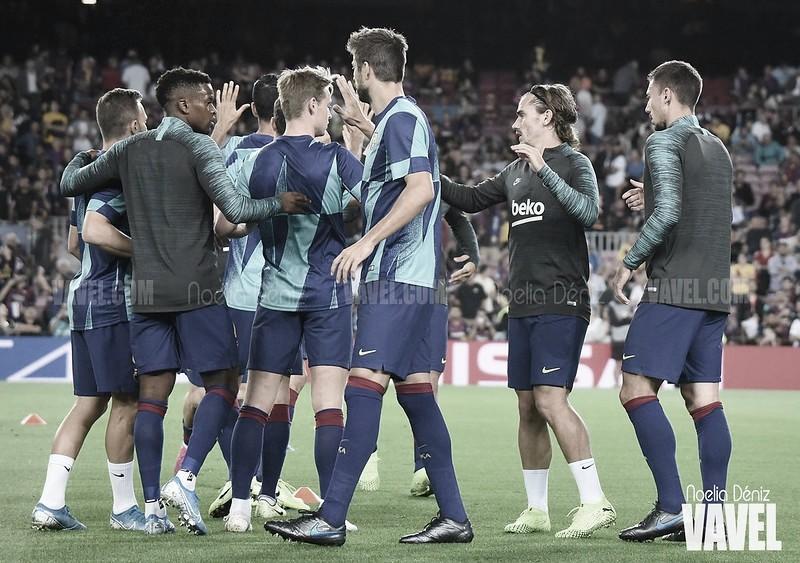 Vuelve la dinámica grupal en el Barcelona