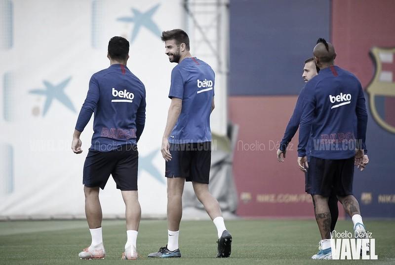 El Barcelona vuelve a los entrenamientos