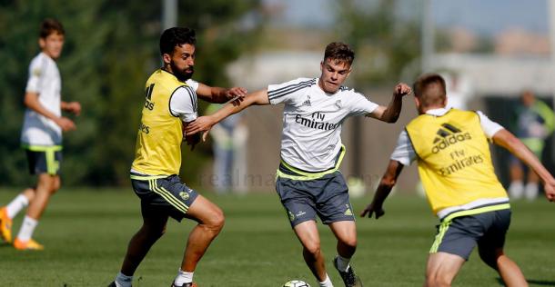 El Madrid y el Castilla entrenan juntos