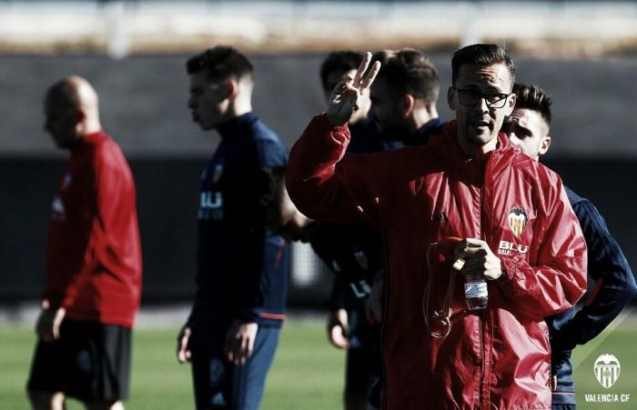 El Valencia CF volverá a los entrenamientos el lunes