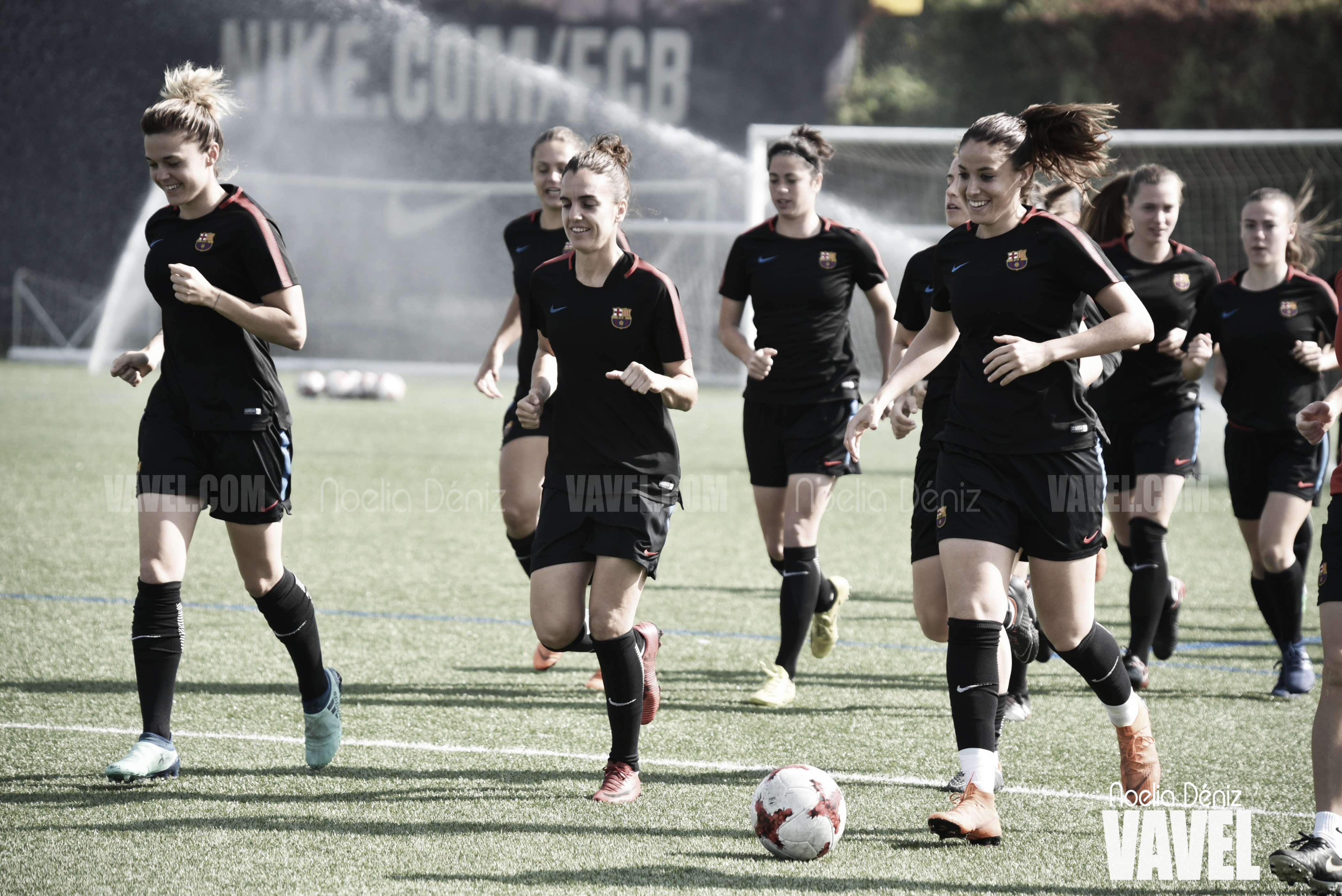 Barça Féminas: último entreno antes de viajar a Kazakhstan