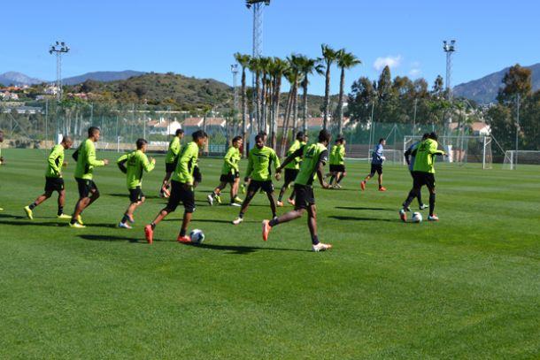 El Granada vuelve a concentrarse en Marbella antes de recibir al Rayo Vallecano