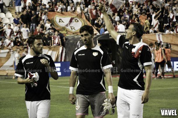 El Rayo prepara en su Estadio la visita a Balaídos