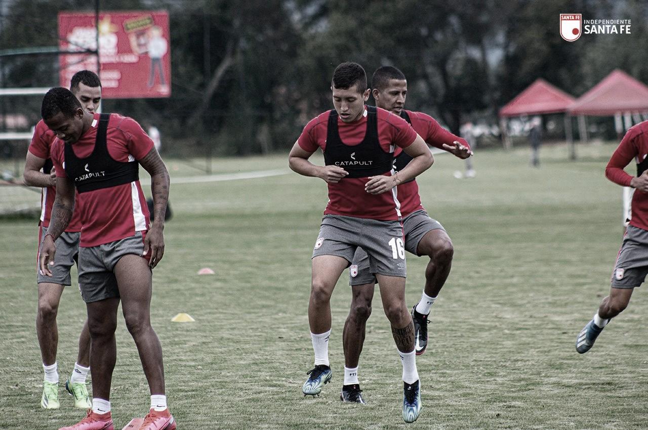 Los convocados de Independiente Santa Fe para enfrentar a Envigado