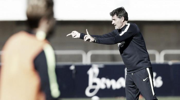 Rolán es seria duda en el primer entrenamiento del Málaga