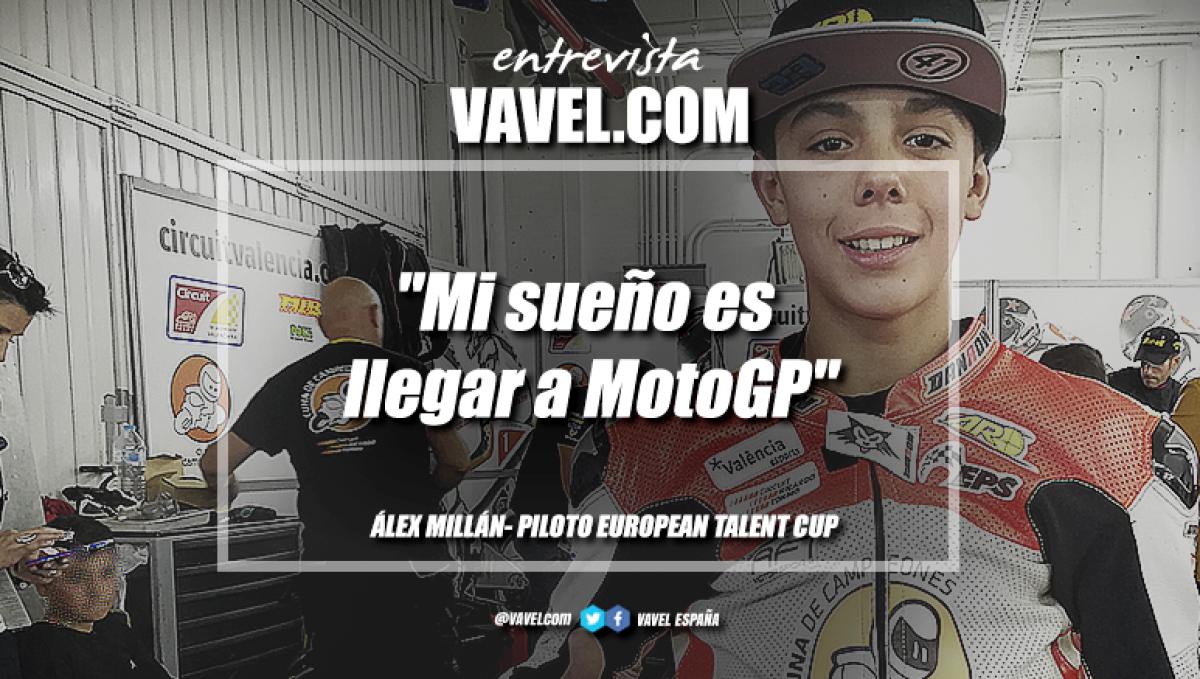 """Entrevista. Álex Millán: """"Mi sueño es llegar a MotoGP"""""""