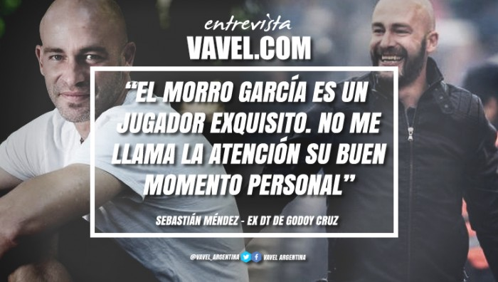 """Entrevista. Sebastián Méndez: """"Obviamente me gustaría volver a dirigir a Godoy Cruz, en algún momento"""""""
