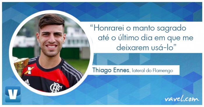 Entrevista. Campeão da Copinha, Thiago Ennes afirma estar pronto para oportunidade nos profissionais