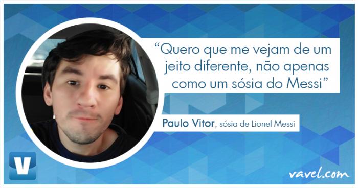Da brincadeira à fama: conheça Paulo Vitor, o sósia de Messi que virou celebridade na internet