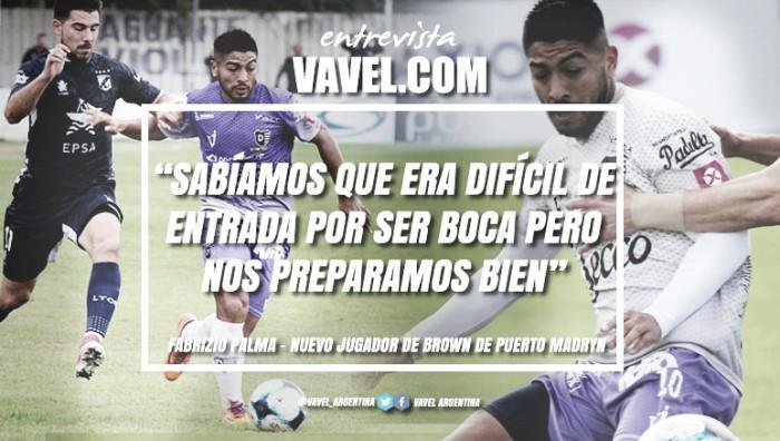 """Entrevista. Fabrizio Palma: """"Mostramos ser un equipo con carácter y no nos tembló para nada jugarle de igual a igual a Boca"""""""
