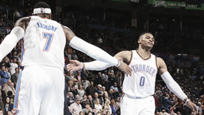 Resumen de la jornada: Westbrook lidera la remontada de OKC
