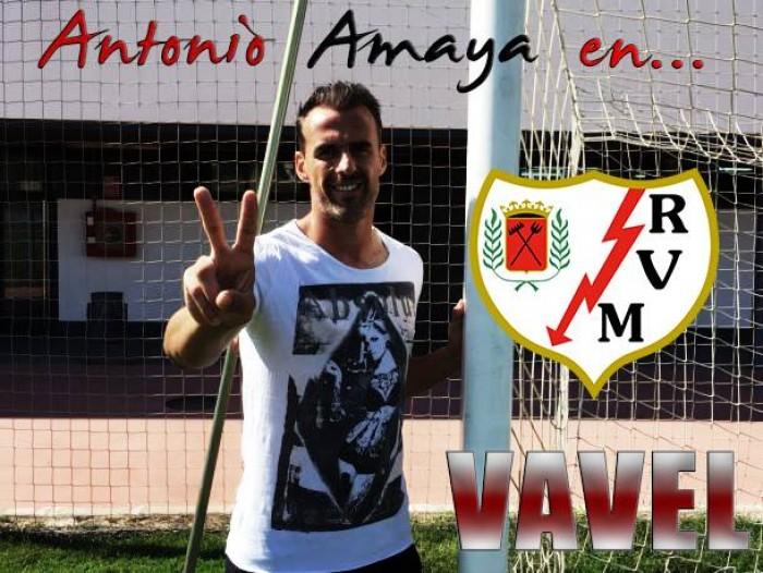 """Entrevista. Amaya: """"Me voy a retirar en el Rayo Vallecano"""""""