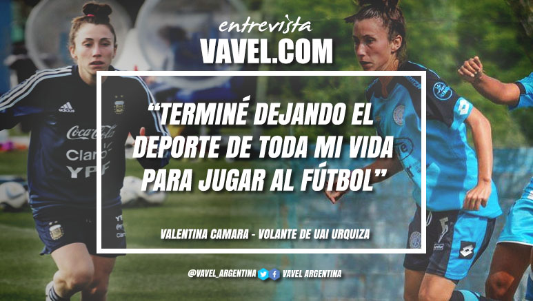 """Entrevista. Valentina Camara: """"Mi ejemplo en la vida es mi mamá"""""""