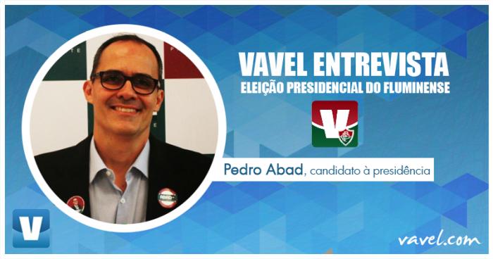 Eleição Presidencial no Fluminense: VAVEL entrevista candidato Pedro Abad