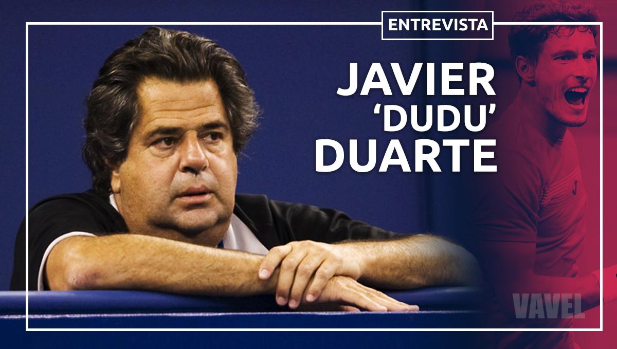 Entrevista: Javier Duarte, el formador de Pablo Carreño Busta