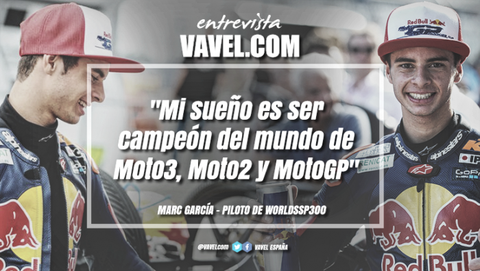 """Entrevista. Marc García: """"Mi sueño es ser campeón del mundo de Moto3, Moto2 y MotoGP"""""""