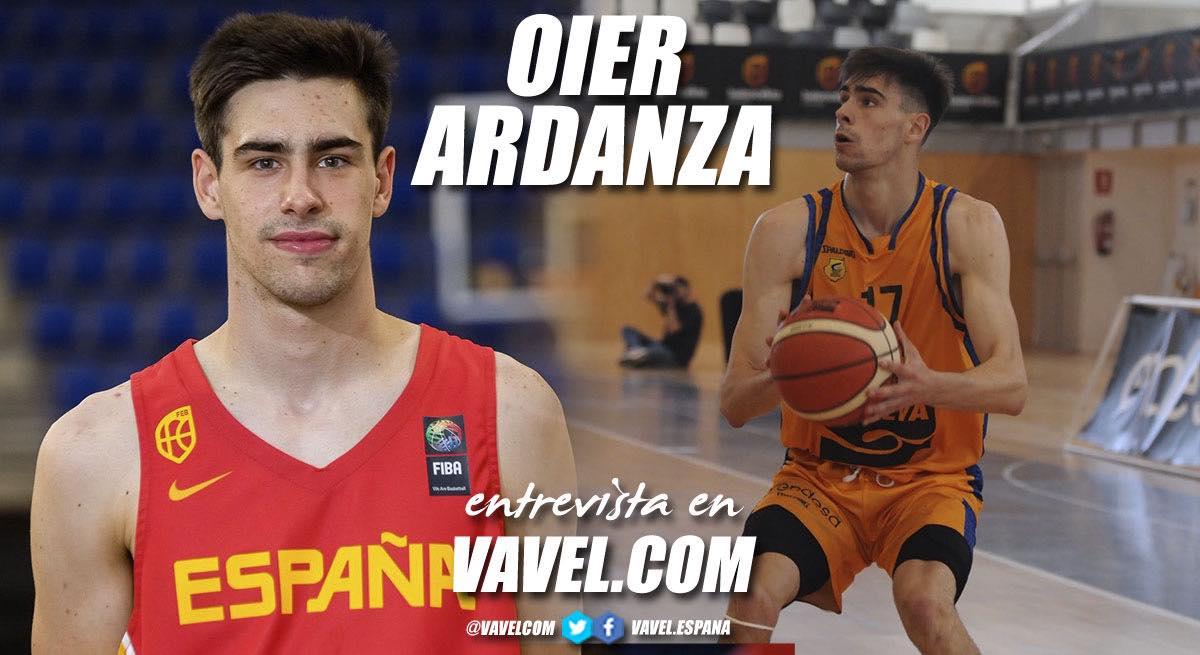 "Entrevista. Oier Ardanza: ""Entrenar con el primer equipo te da ánimo, fuerza e ilusión para seguir trabajando"""