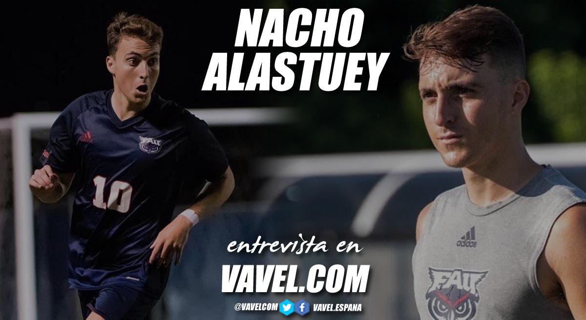 """Entrevista. Nacho Alastuey: """"EEUU me permite seguir desarrollando mi carrera deportiva y académica al máximo nivel"""""""