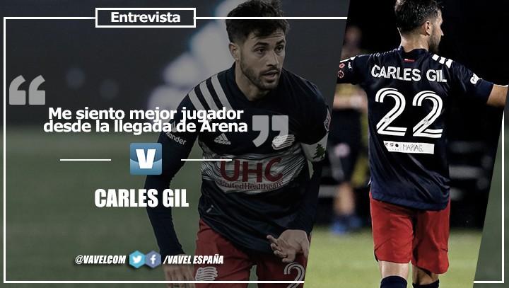 """Entrevista. Carles Gil: """"Me siento mejor jugador desde la llegada de Arena"""""""