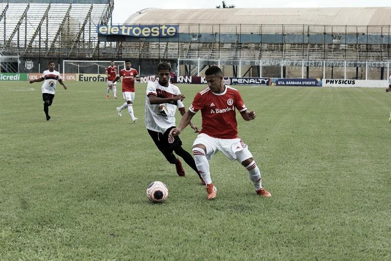Internacional estreia na Copa São Paulo de Futebol Júnior com vitória sobre o Confiança-PB