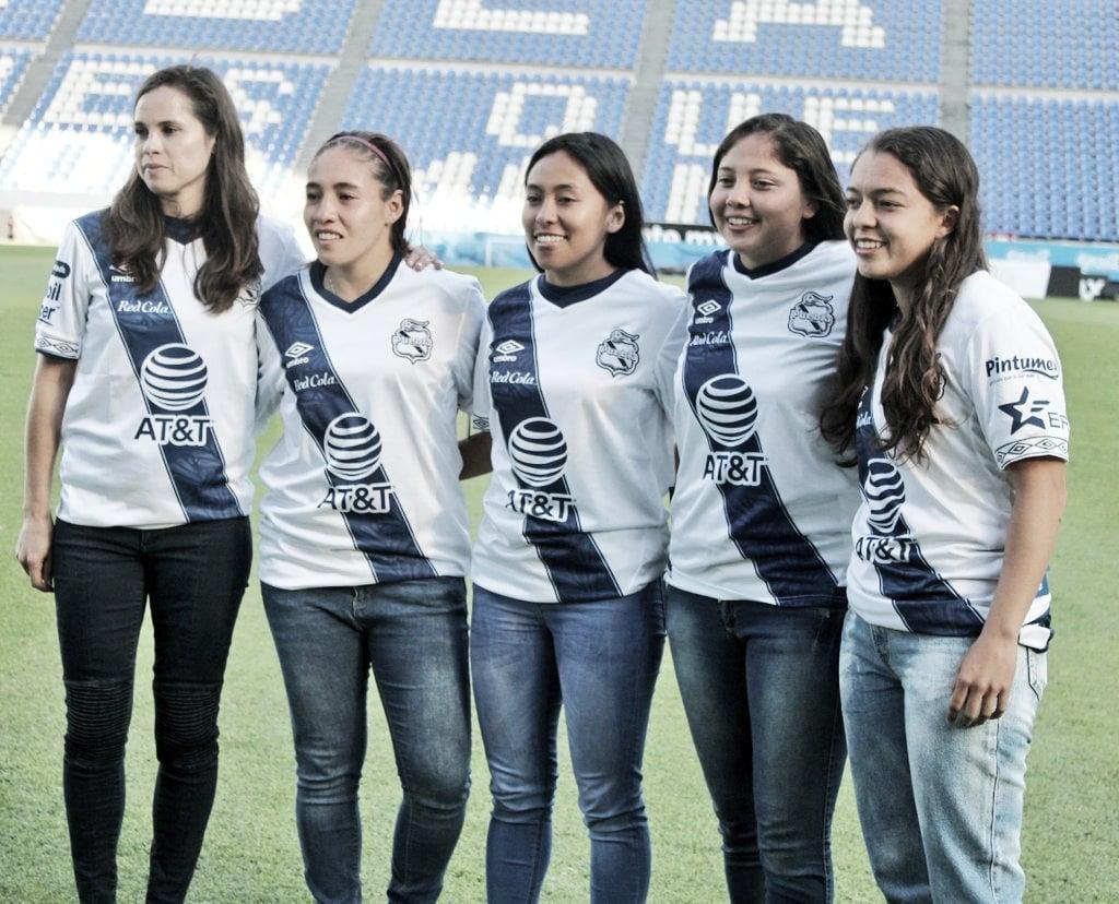 Puebla Femenil presentó a sus refuerzos de cara al Clausura 2020