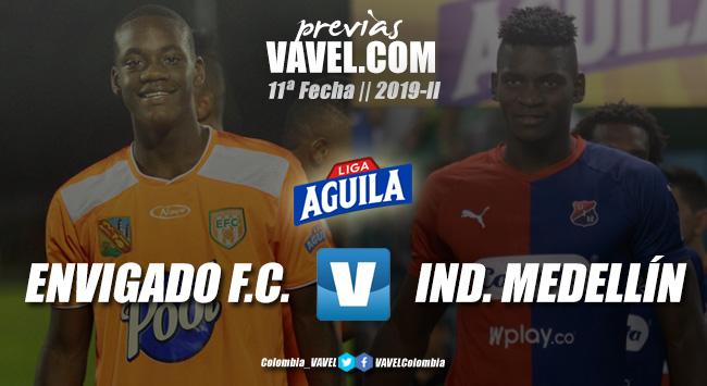 Previa: Envigado vs. Independiente Medellín: dos necesitados de la victoria