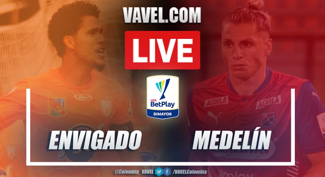 Resumen Envigado vs Medellín (1-1) en la fecha 10 por Liga BetPlay 2021-I