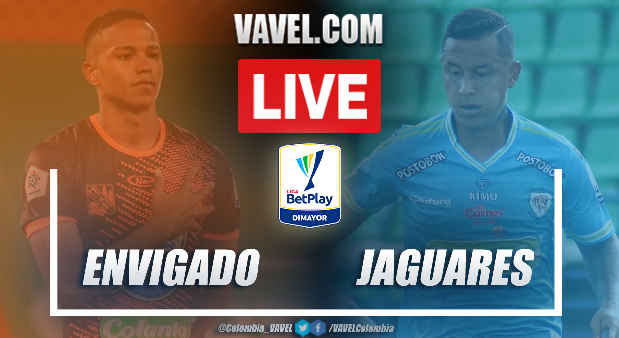 Resumen Envigado vs Jaguares (1-1) en la fecha 4 por Liga BetPlay 2021-I