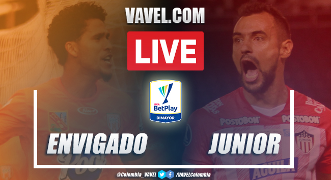Resumen: Envigado vs Junior (1-0) por Liga BetPlay
