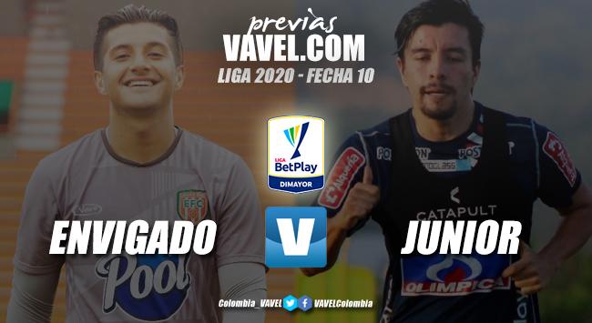 Previa Envigado vs. Junior de Barranquilla:   ambos equipos quieren seguir con la racha ganadora