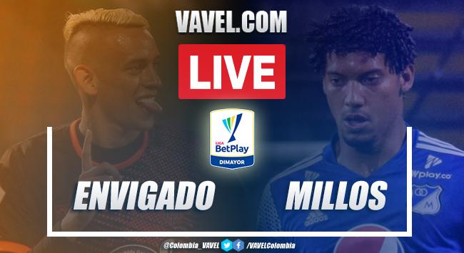 Resumen: Envigado vs Millonarios (1-2) por Liga BetPlay