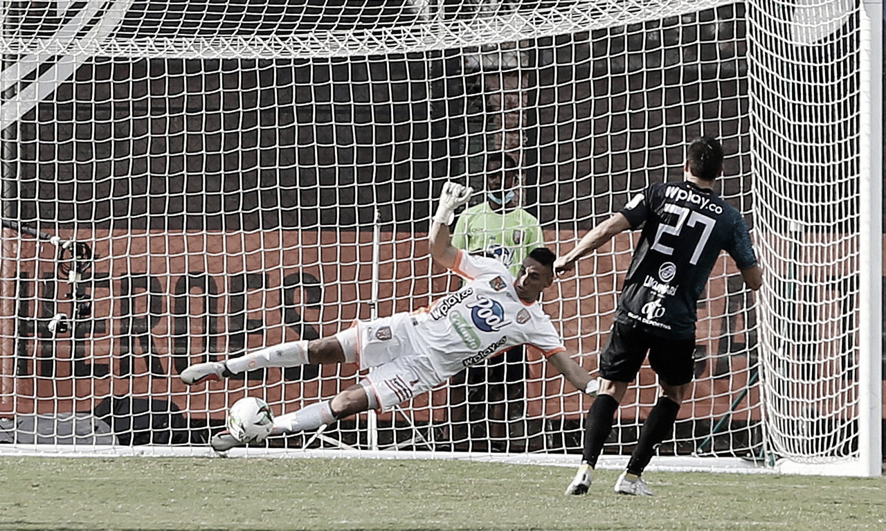 Envigado cayó frente al Deportivo Pereira en el Polideportivo Sur