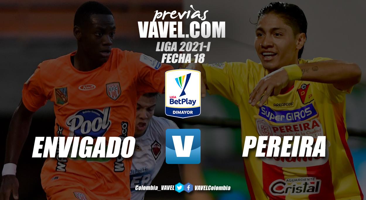 Previa Envigado vs Deportivo Pereira: un duelo que puede decidir el rumbo del 'matecaña'