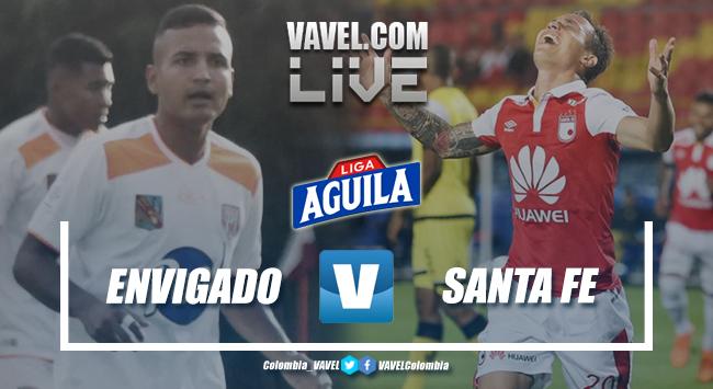 Santa Fe sigue sin conocer el triunfo en la Liga Aguila 2019-1