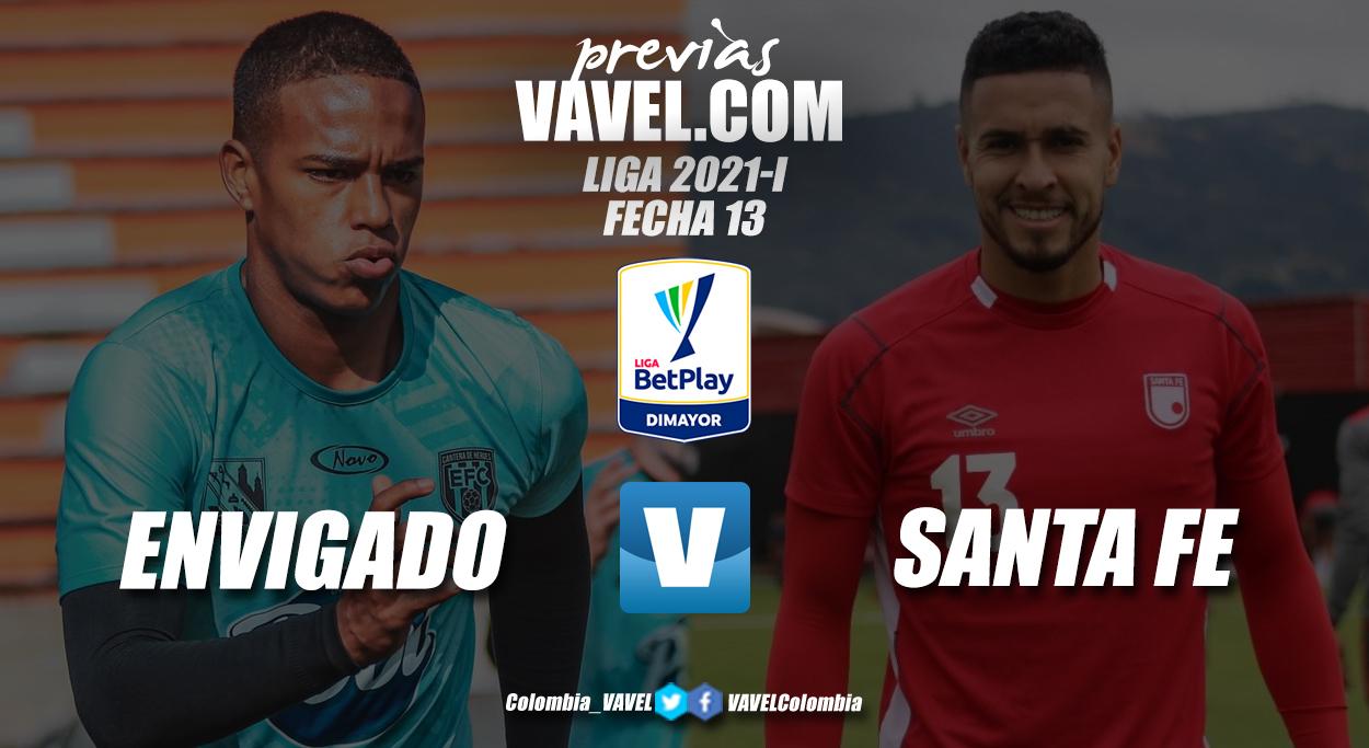Previa Envigado vs. Independiente Santa Fe: el regreso 'cardenal' y la búsqueda del triunfo