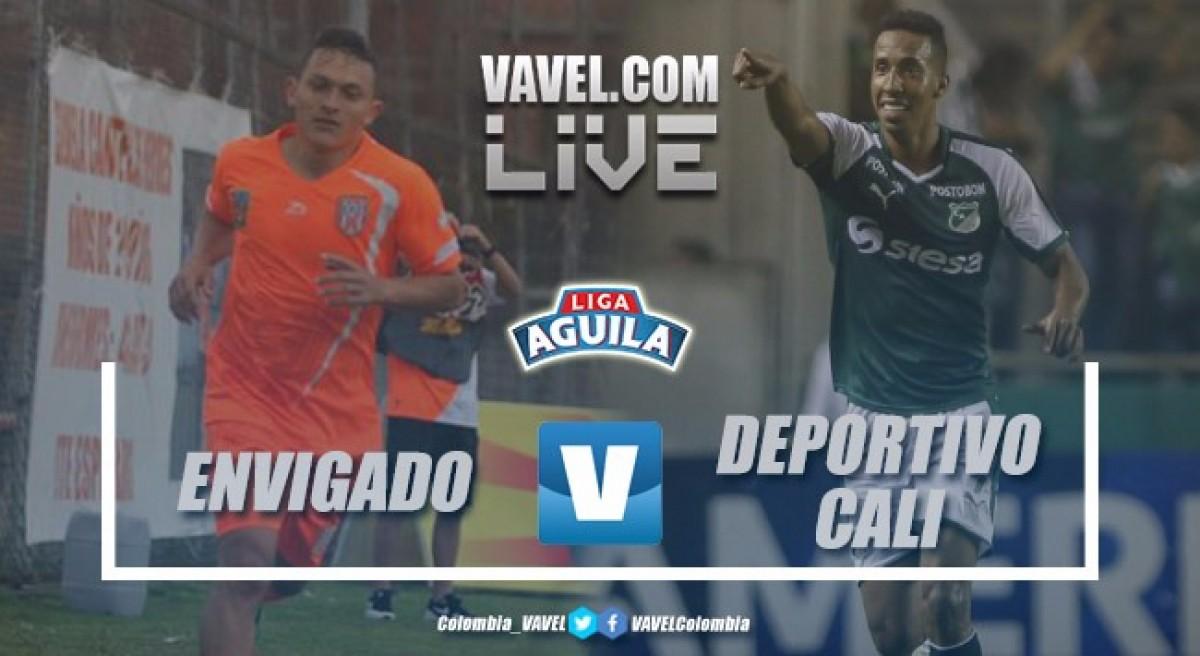 Resumen Envigado 1-1 Deportivo Cali por la Liga Águila 2018