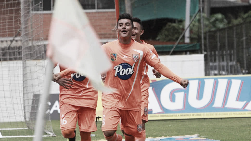 Yeison Guzmán, de menos a más en el Envigado FC