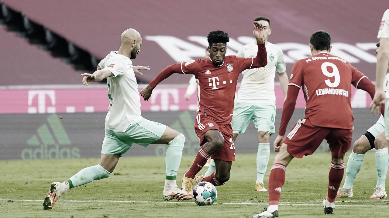 Empate con sabor amargo del Bayern contra el Bremen