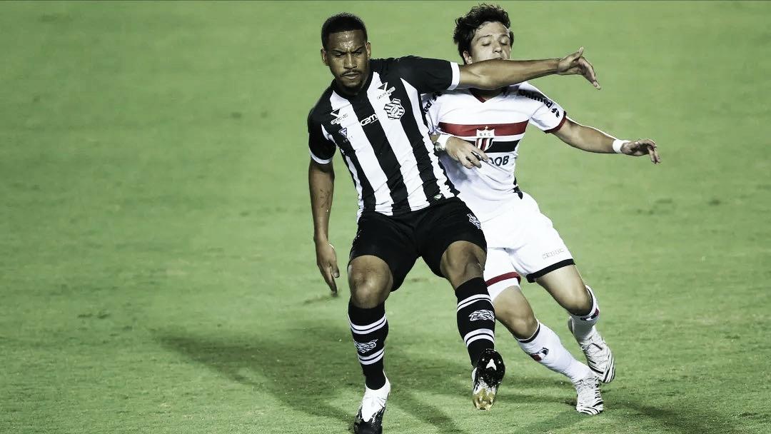 Ruim para os dois lados: Figueirense e Botafogo-SP criam, mas ficam no empate