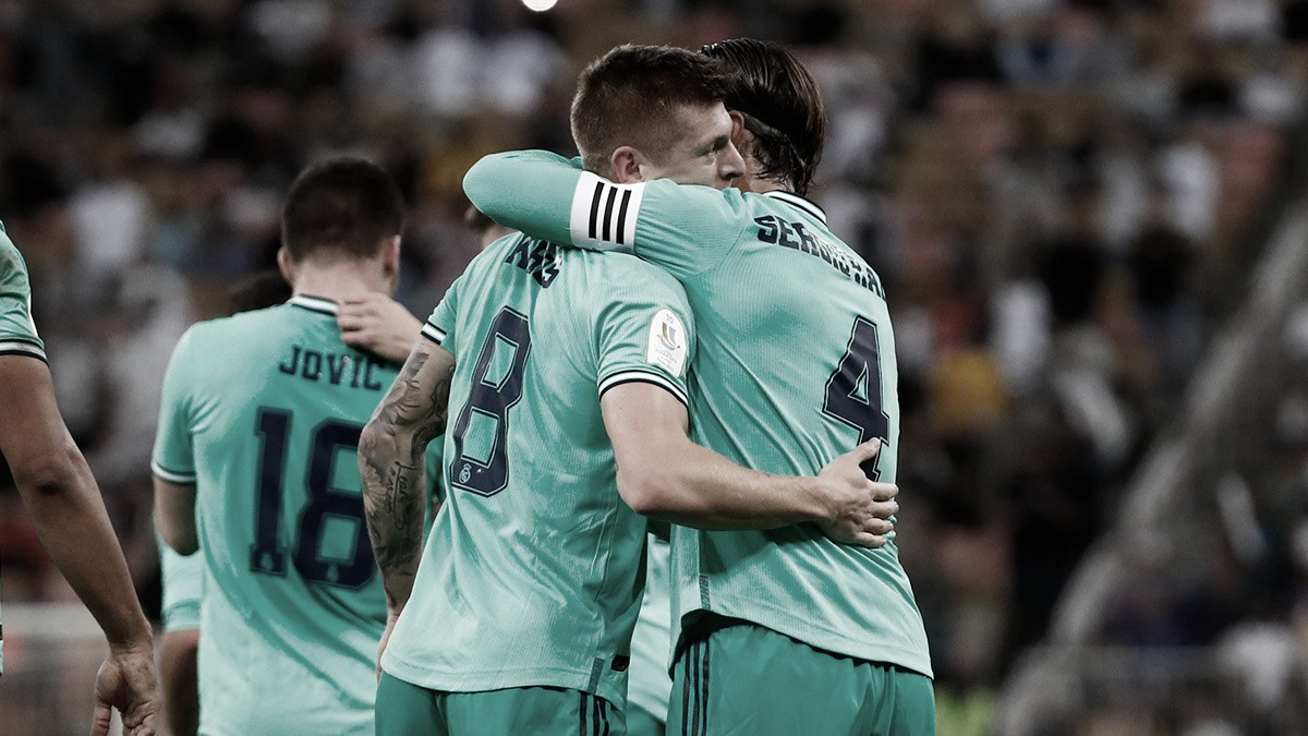 Kroos marca gol olímpico, Real Madrid vence Valencia e se classifica para final da Supercopa
