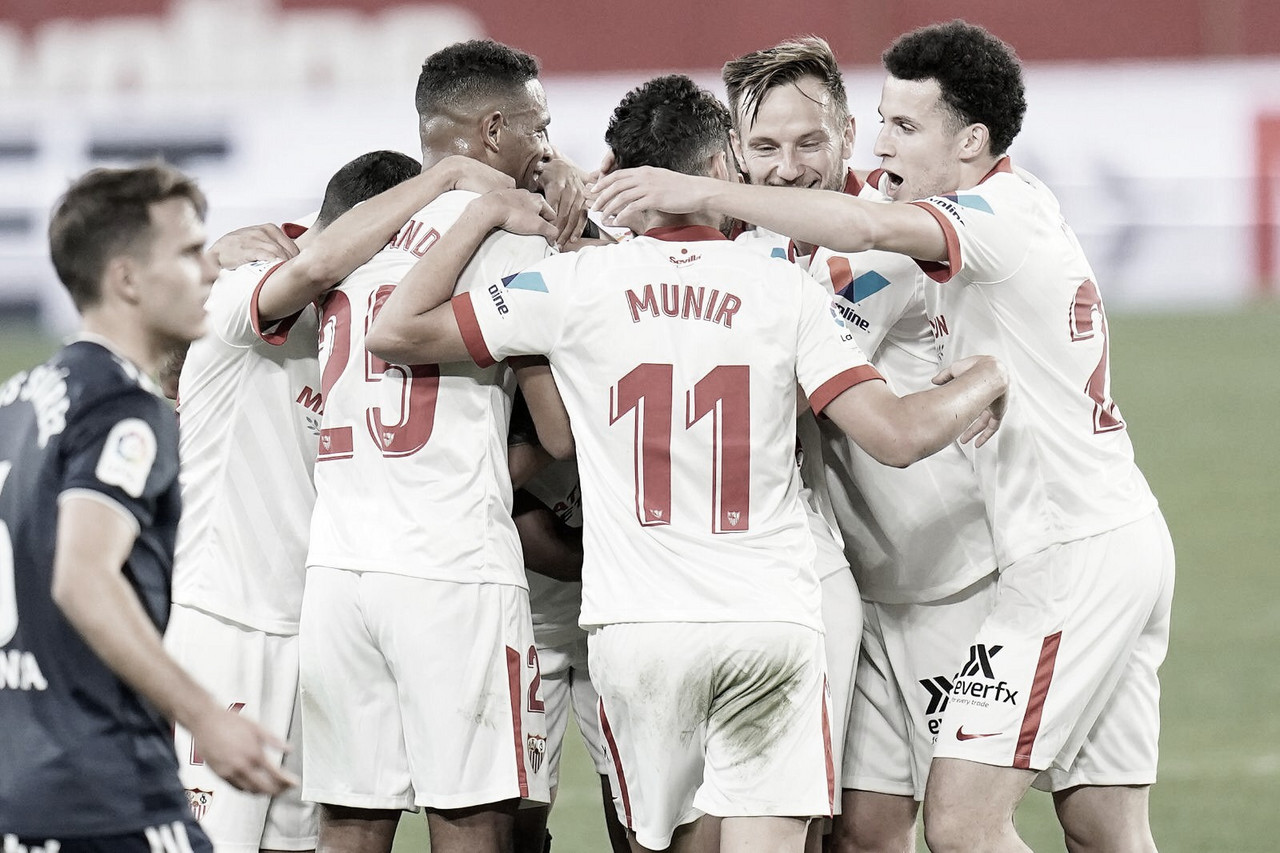 Lo más destacado del Sevilla FC - RC Celta