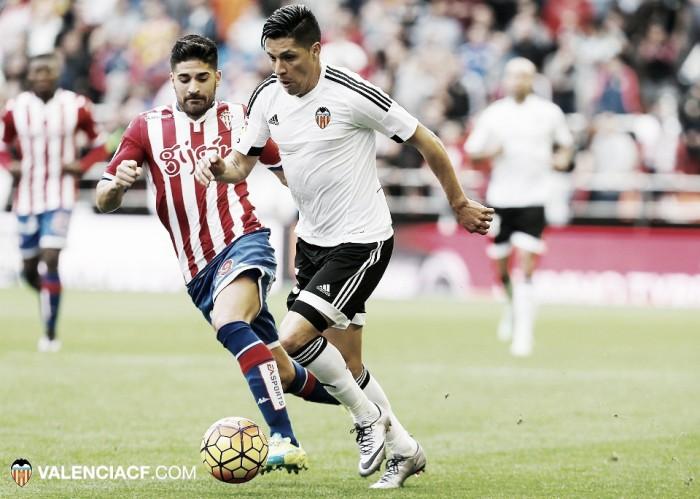 Valencia CF: buen aval ante el Sporting de Gijón