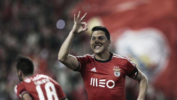 Enzo cumpre jogo 100 pelo Benfica