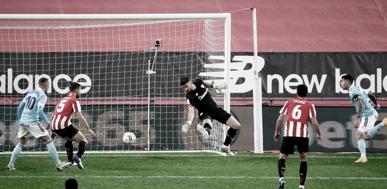 Resumen del Athletic Club vs Celta de Vigo en LaLiga Santander 2020/21 (0-2)