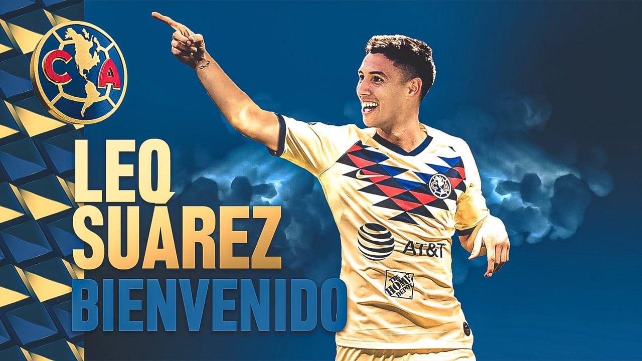 Club América signs striker Leonardo Suárez